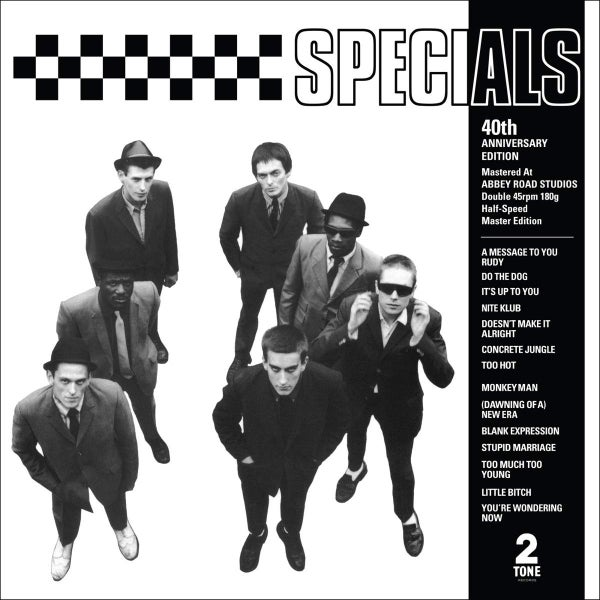 Image of (UPCOMING RELEASE) The Specials - s/t 40th Anniversary Edition 2xLP