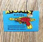 Image of ATOMIC PISTOL **40mm Pin** - Shaky Kane