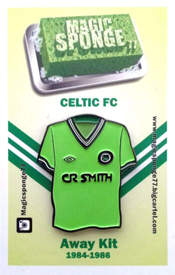 Image of Out Now Classic Celtic FC Mint Green Away Kit