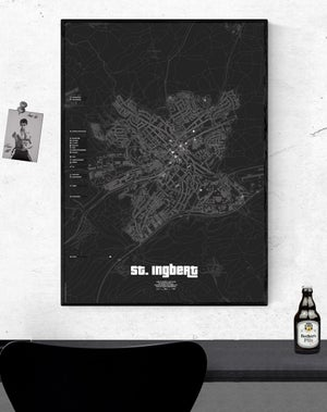 Image of St. Ingbert underground Karte