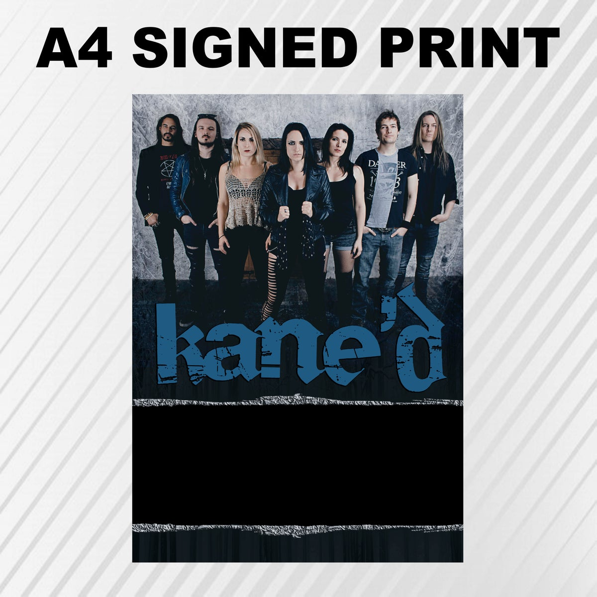 Image of A4 Signed Print