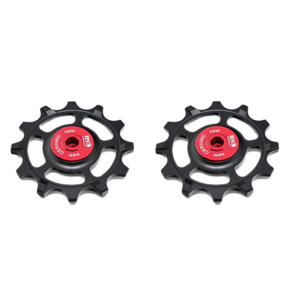 Image of Ceramic Jockey Wheel Set - SRAM XX1 11 Speed (12T+12T)