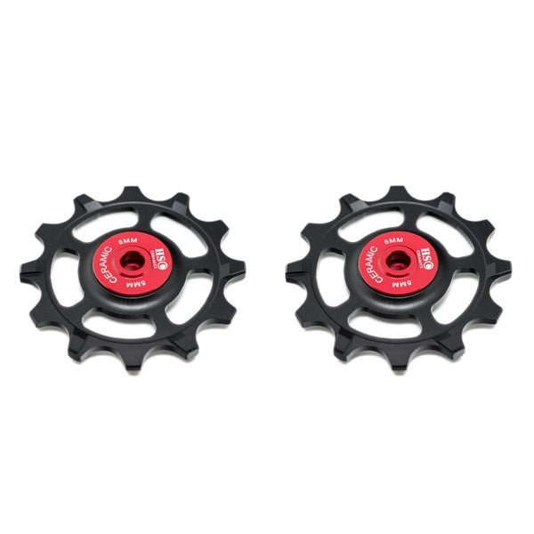 Image of Ceramic Jockey Wheel Set - SRAM XX1 11 Speed (12T+12T)