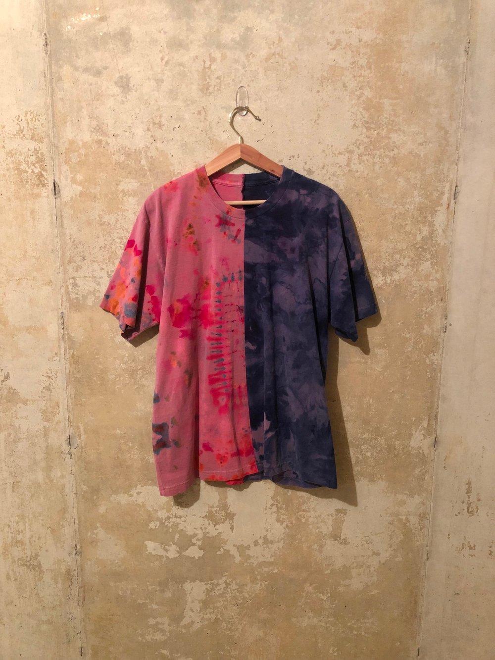 Tie Dye Split Shirt Medium - #1