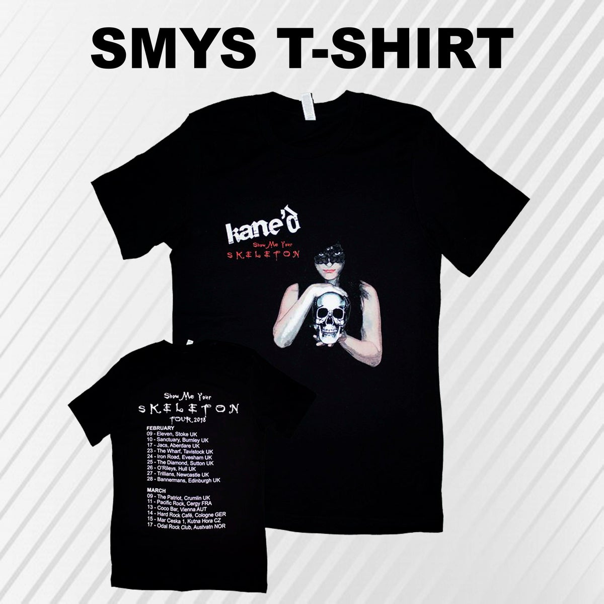 Image of SMYS 2018 TOUR T-SHIRT