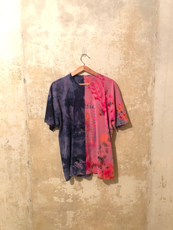 Image of Tie Dye Split Shirt Medium - #2