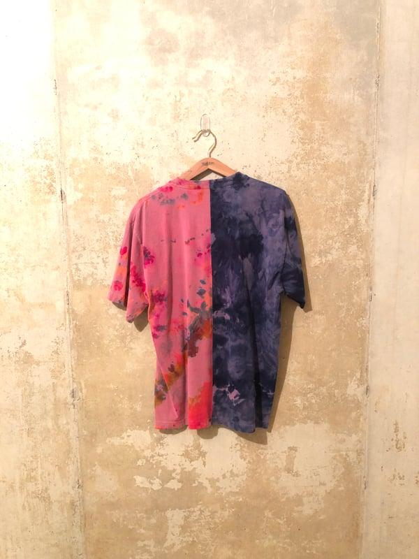 Image of Tie Dye Split Shirt Medium - #2