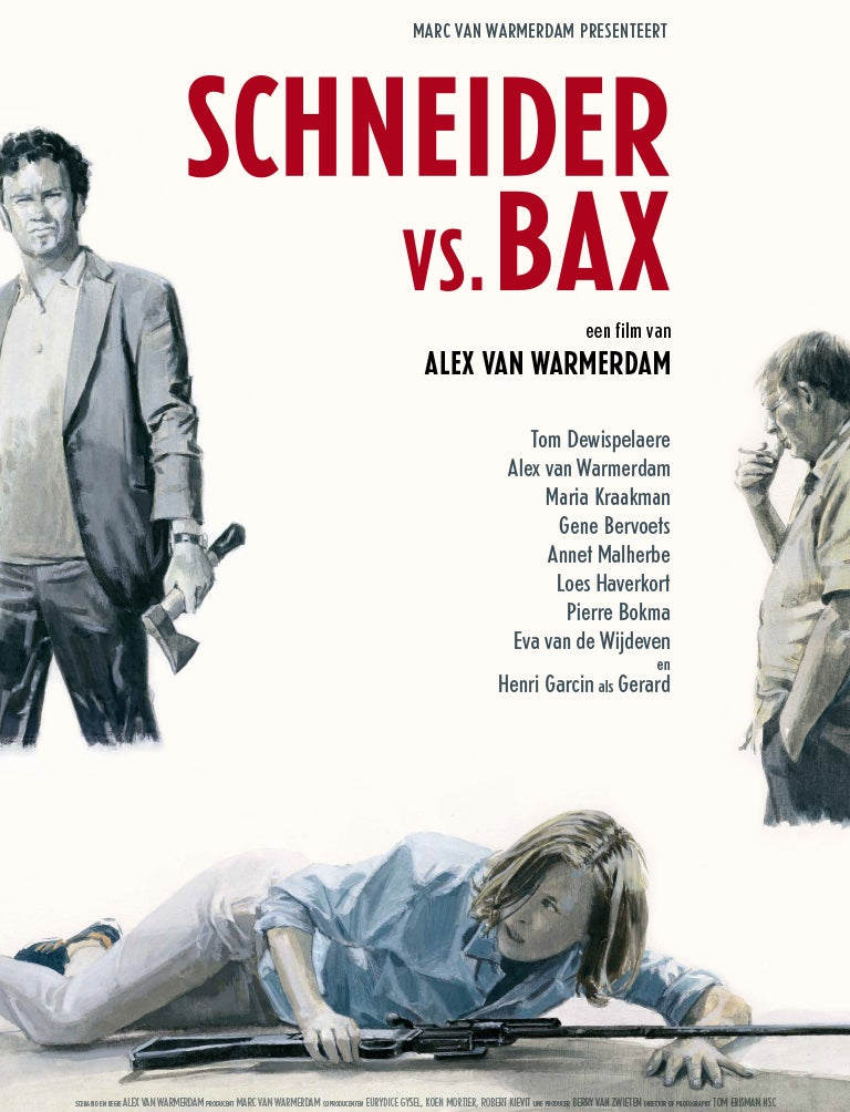 Image of Schneider vs. Bax (DVD)