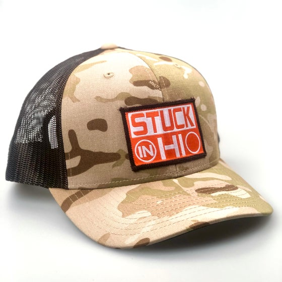 Image of Camo Trucker Hat - Various Colors