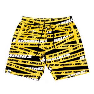 Image of Yellow Tape Swim Short