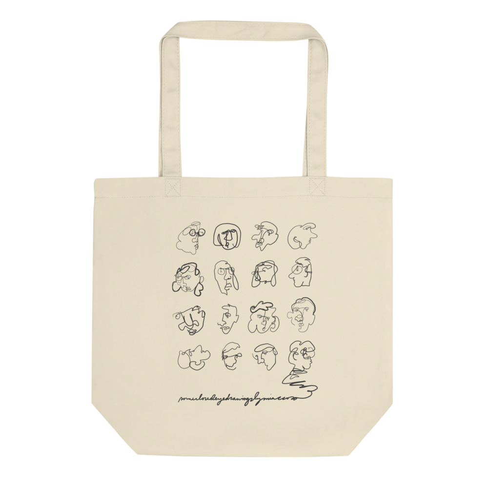 Image of 'Closed Eye' Tote Bag