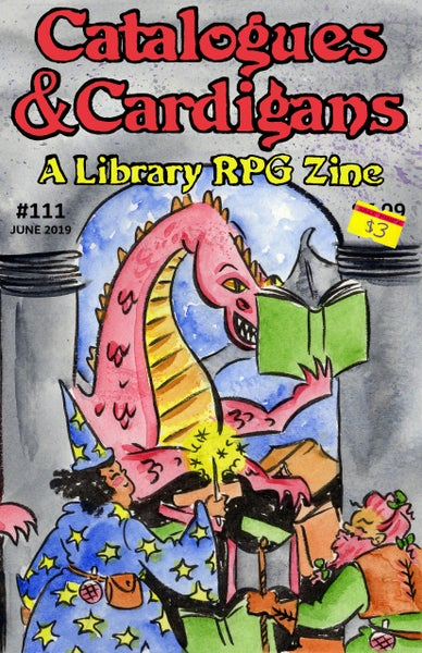 Image of Catalogues & Cardigans: A Library RPG Zine #111