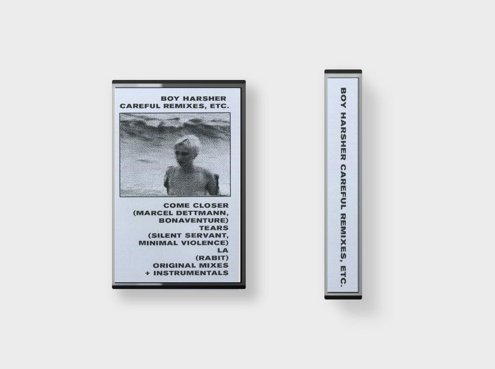 Image of BOY HARSHER 'Careful Remixes, etc.' Cassette
