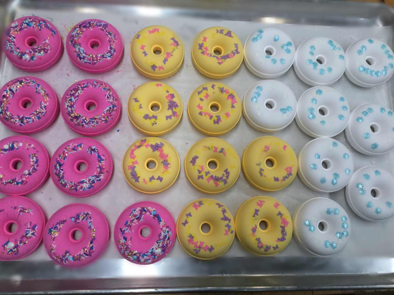 Image of Bath Bomb Donuts