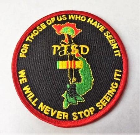 Image of Vietnam Veteran PTSD patch