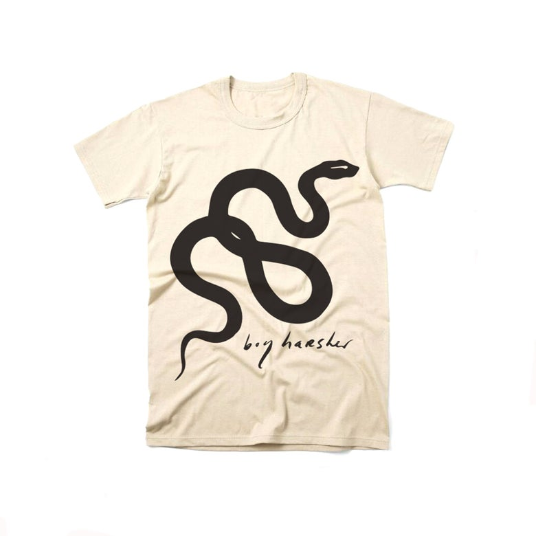 Image of SNAKE Off White T-shirt