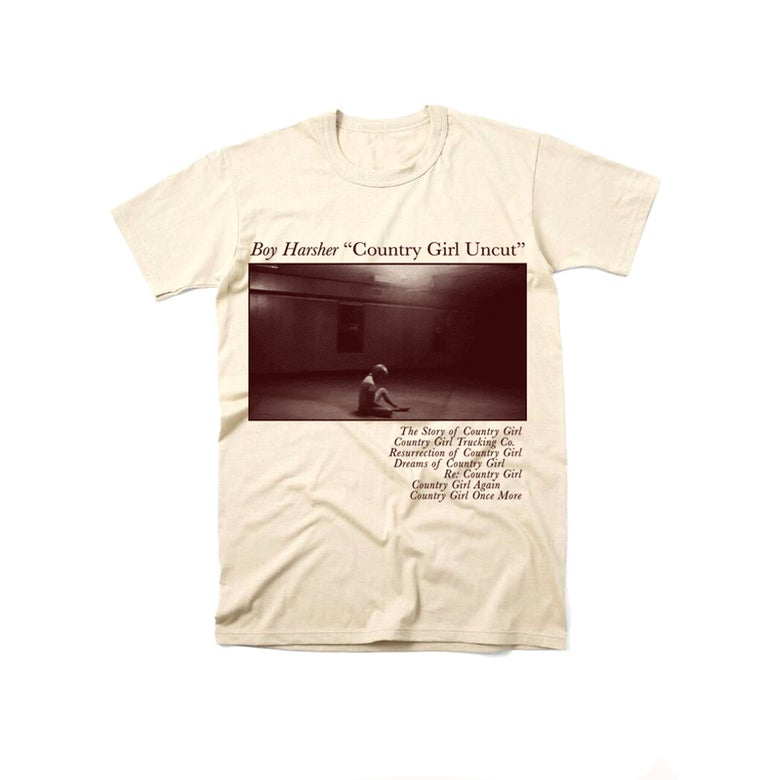 Image of COUNTRY GIRL UNCUT Off white T-shirt *PRE-ORDER*