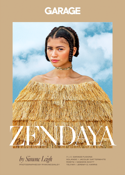 Image of GARAGE Issue 17: Zendaya by Simone Leigh. Photographed by Ryan McGinley.
