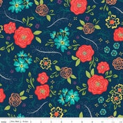 Image of Wildflower Boutique Navy Floral