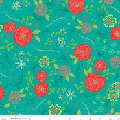 Image of Wildflower Boutique Teal Floral