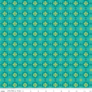 Image of Wildflower Boutique Teal Mosiac