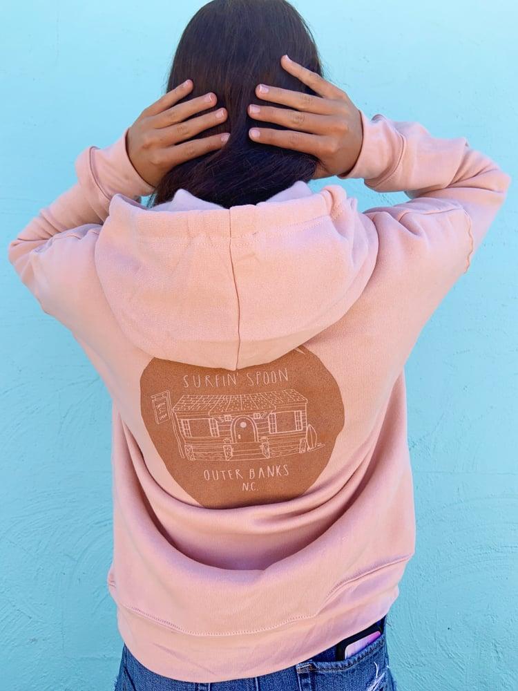 Image of Peachy Pullover Hoodie
