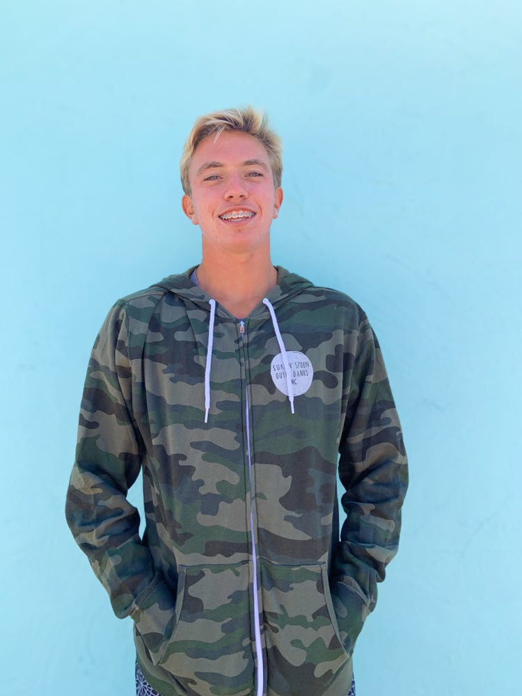 Image of Camo Zip Up