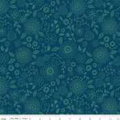 Image of Wildflower Boutique Navy Line Work Floral