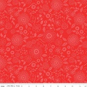 Image of Wildflower Boutique Red Line Work Floral