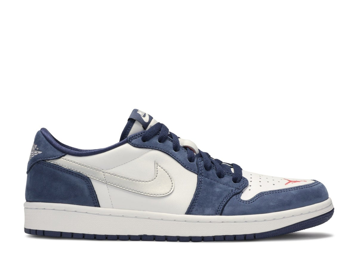 "Image of NIKE SB AIR JORDAN 1 LOW QS ""ERIC KOSTON"""