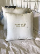 Image of Wisdom Pillow: Your Own Hat
