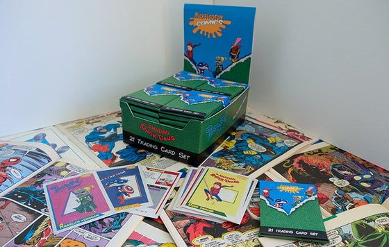 Image of NickToon Comics Trading Cards