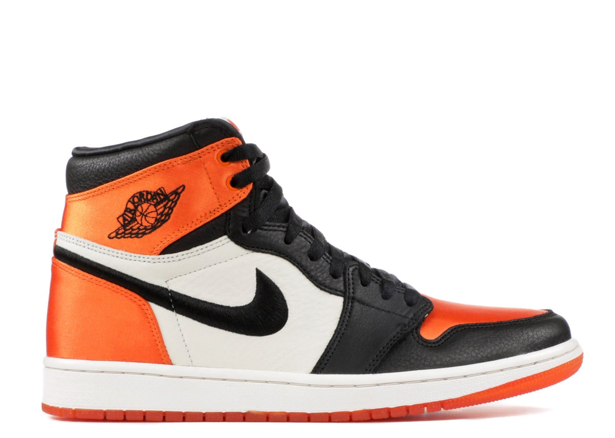 "Image of WMNS AIR JORDAN 1 RE HI OG SL ""SATIN SHATTERED BACKBOARD"""