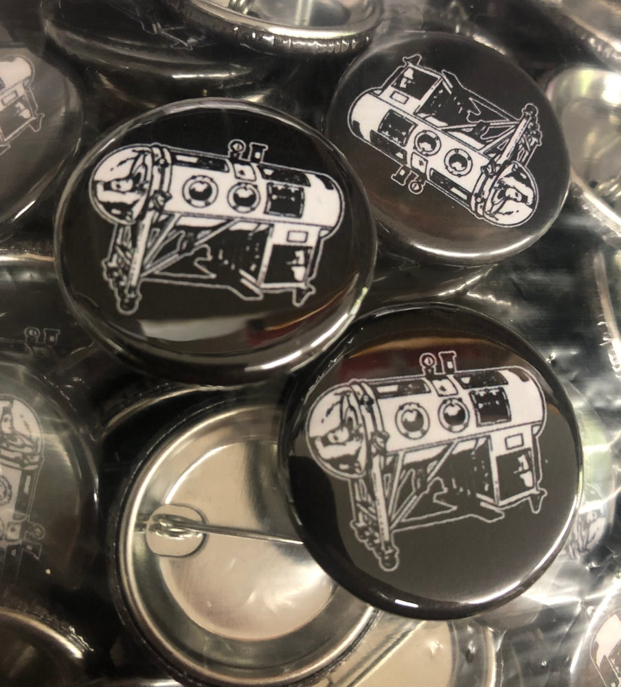Image of IRON LUNG - Logo button