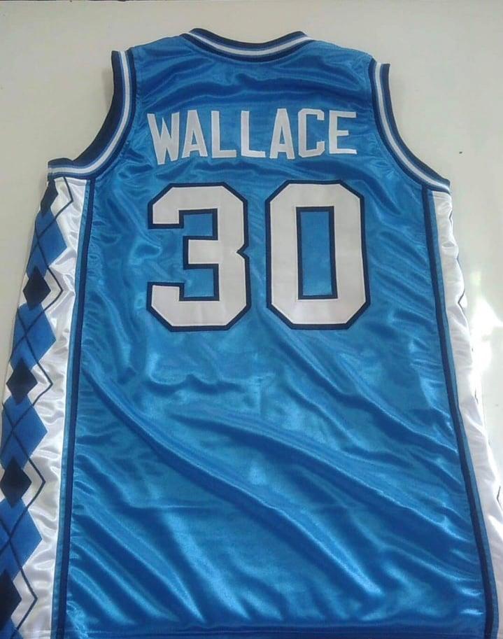 Image of Rasheed Wallace UNC custom