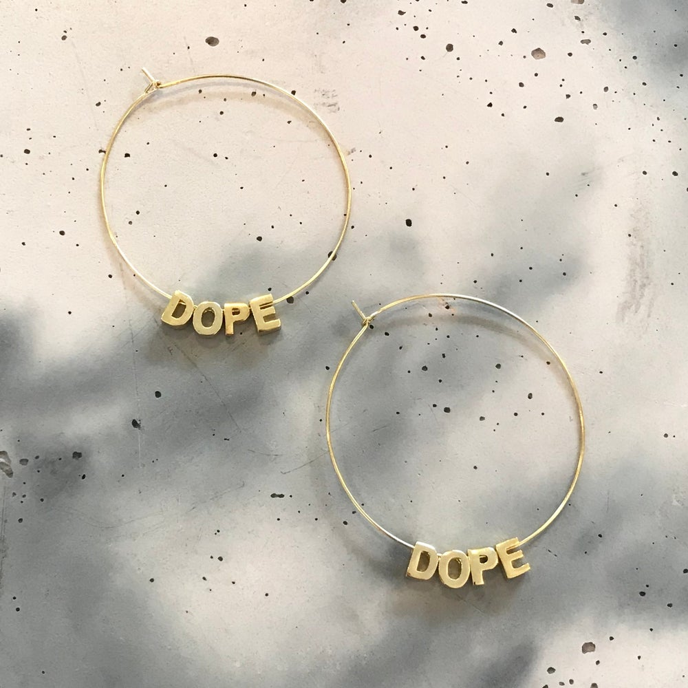 Image of | DOPE HOOPS | LARGE