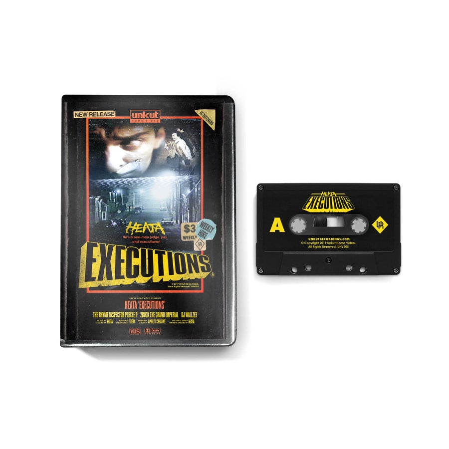 Image of HEATA - EXECUTIONS Super Limited Collectors Clamshell Cassette