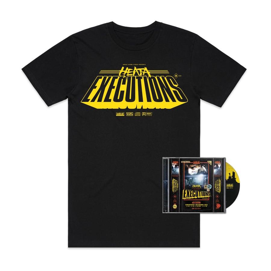 Image of HEATA - EXECUTIONS CD/TEE Blockbuster Combo