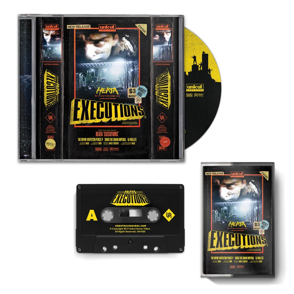 Image of HEATA EXECUTIONS (TAPE + CD Video Ezy Combo Pack)