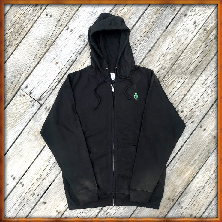 Image of Mini Tree Hoodie Black