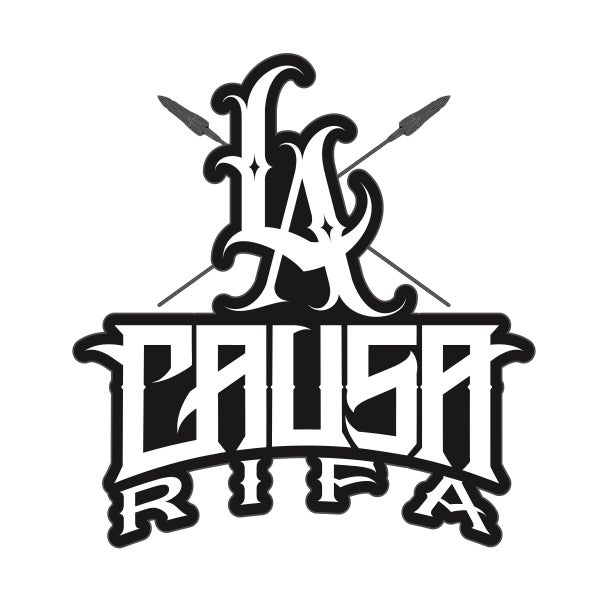 Image of La Causa Rifa Logo Sticker