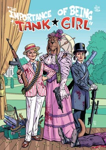 "Image of ""The Importance of Being Tank Girl"" Poster Print - Hand Signed and Numbered with Bonus Print"