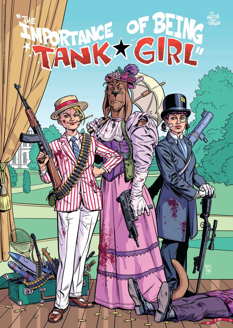 "Image of ""The Importance of Being Tank Girl"" A2 Poster Print - Hand Signed and Numbered with Bonus Print"