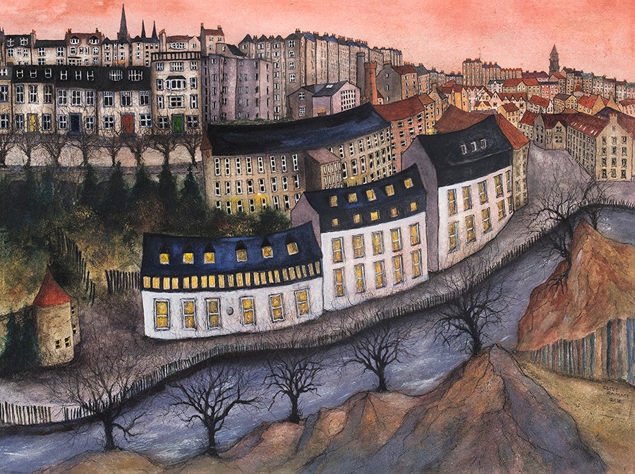 Image of Dean Village, Edinburgh (Sunset)