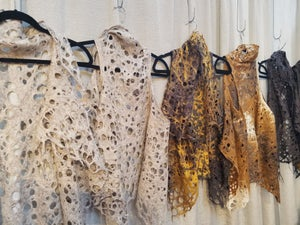 Image of LACE VEST AND SCARF! WORKSHOP