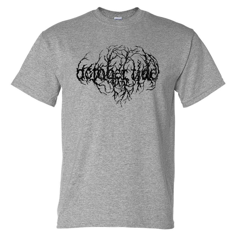Image of Logo sport grey T-shirt (male)