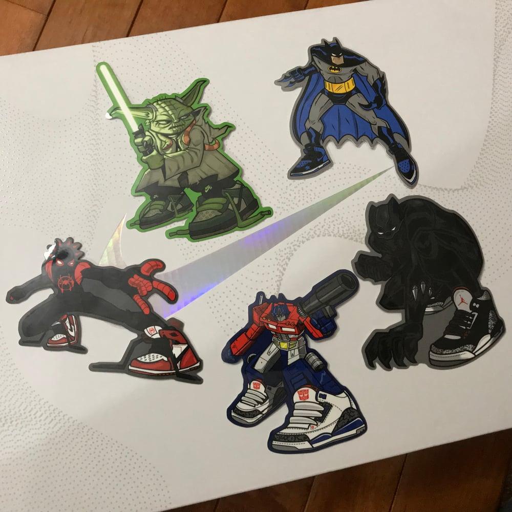 Image of Little Sneakerheads Sticker pack