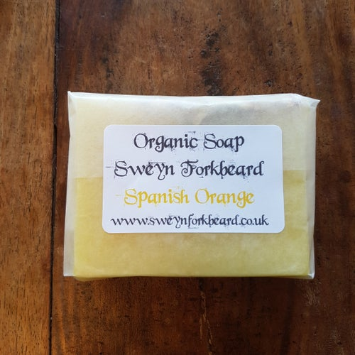 Image of Soap Spanish Orange with Natural Orange Slices (Palm Oil Free)