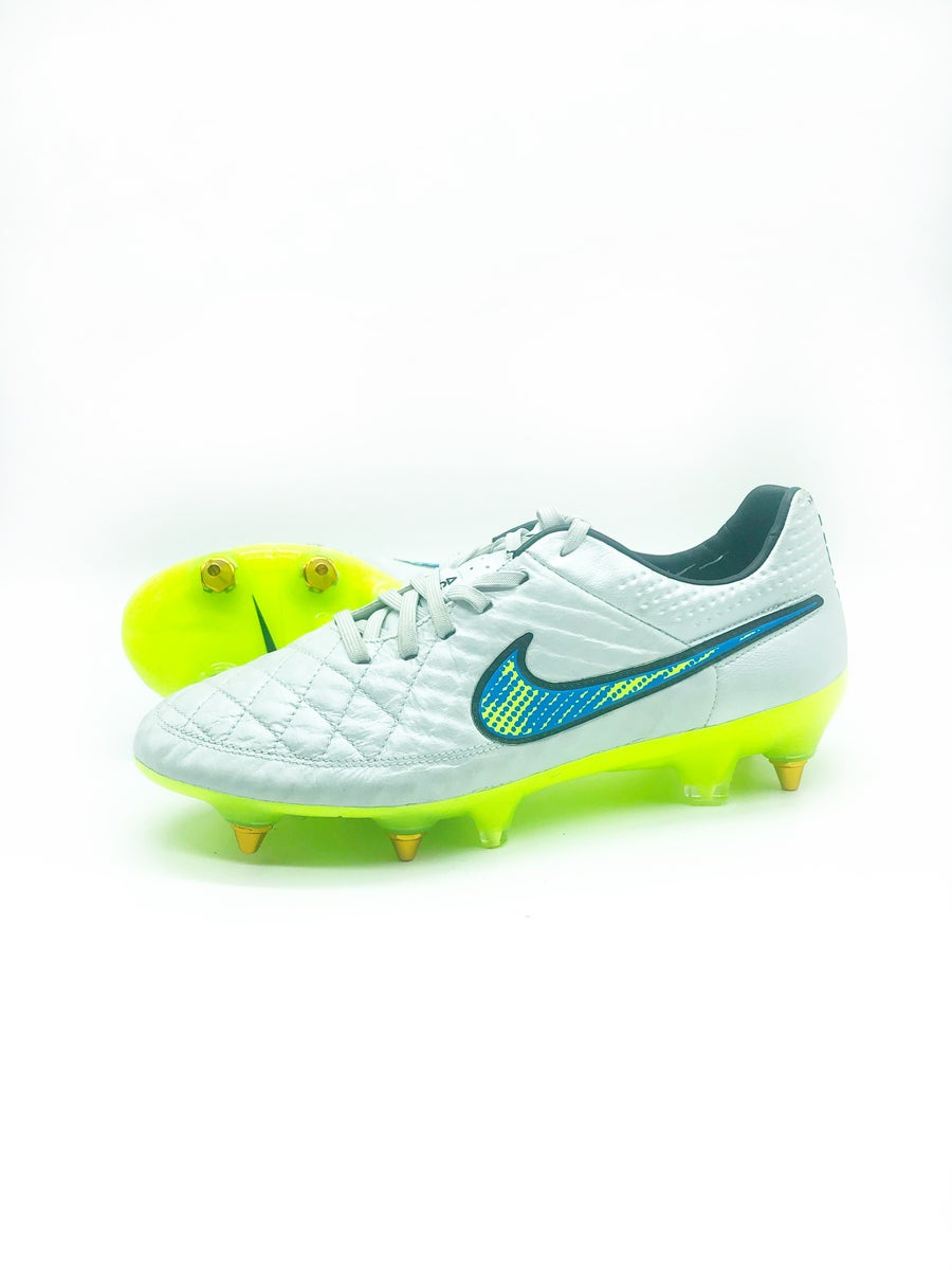 Image of Nike tiempo leather white SG