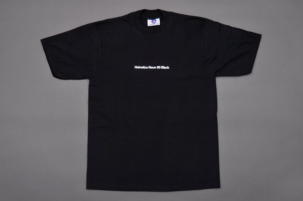 Image of DR Helvetica Neue 95 Black from Typography Series 1990